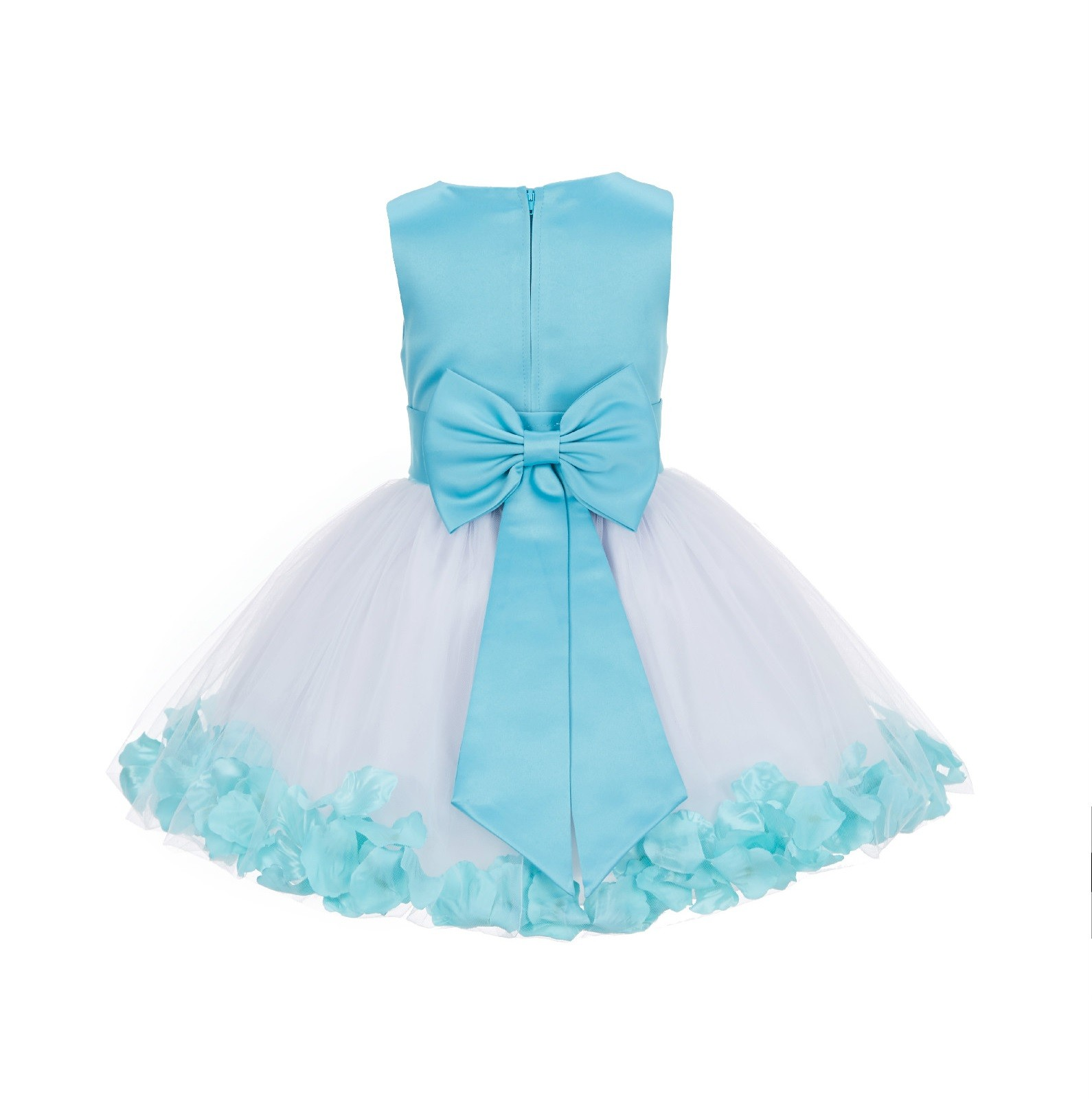 Tiffany Rose Petals Tulle Flower Girl Dress Special Gown 305nt
