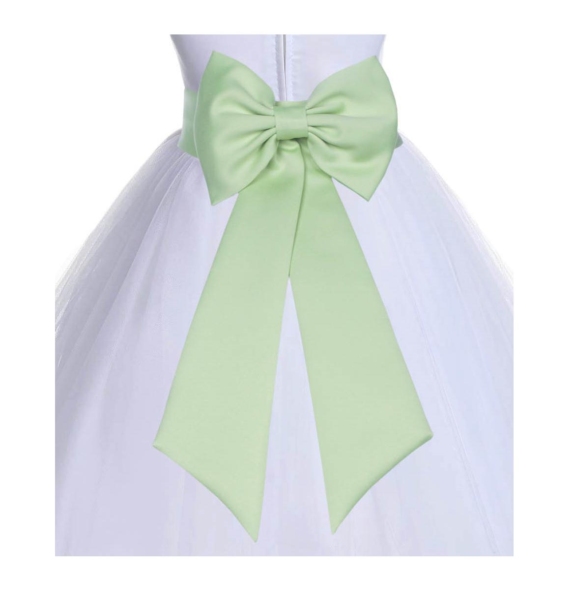 Apple Green Tiebow