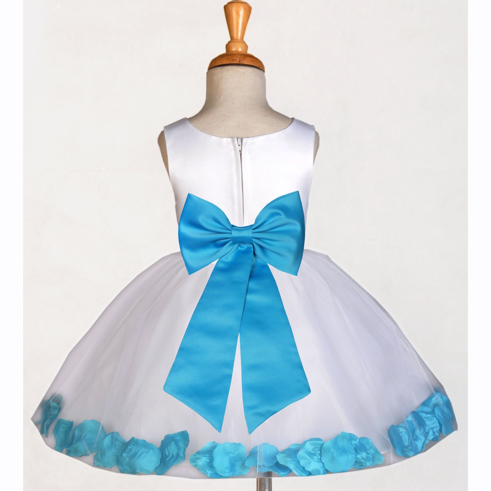 White and turquoise flower girl dresses mightylinksfo
