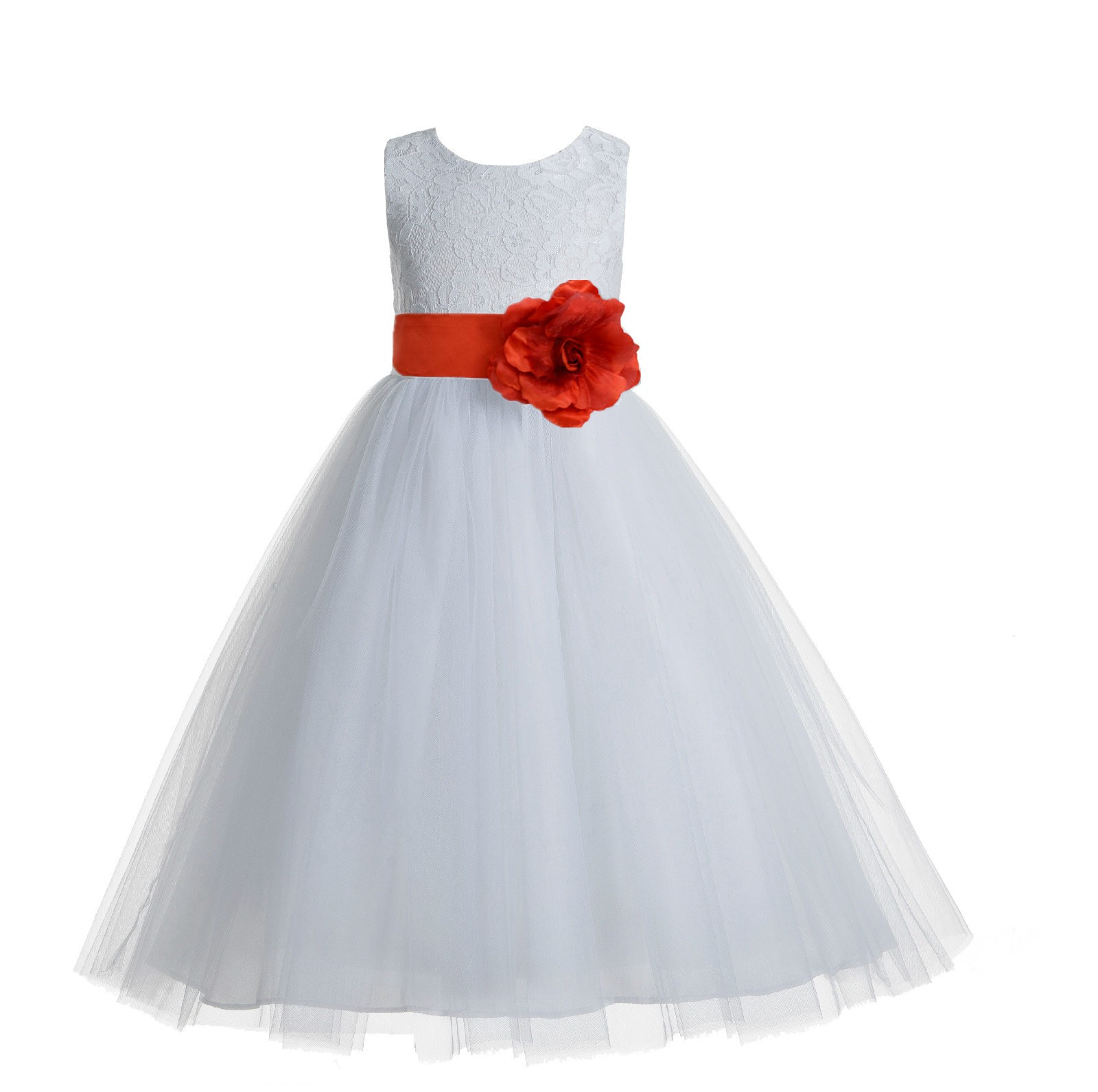 White persimmon floral lace heart cutout flower girl dress with white persimmon floral lace heart cutout flower girl dress with flower 172t izmirmasajfo