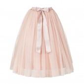 Blush Pink Flower Girls Tulle Skirt Tutu Skirt Tulle Maxi Skirts