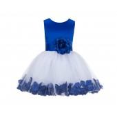 Horizon Rose Petals Tulle Flower Girl Dress Formal Wear 305NS