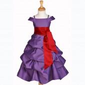 844C2 Purple/apple red
