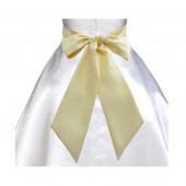 Canary yellow sash