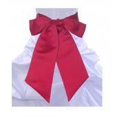 Cherry red sash