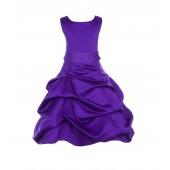 Cadbury Regency/Cadbury Satin Pick-Up Bubble Flower Girl Dress 806S