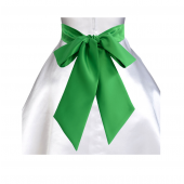 Kelly lime green sash