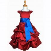 844C2 Apple Red/ royal blue